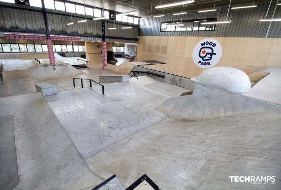 Skatepark w hali