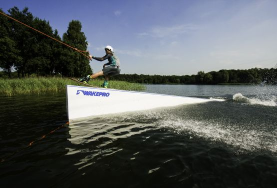 Realized project of wakepark in Netherlands