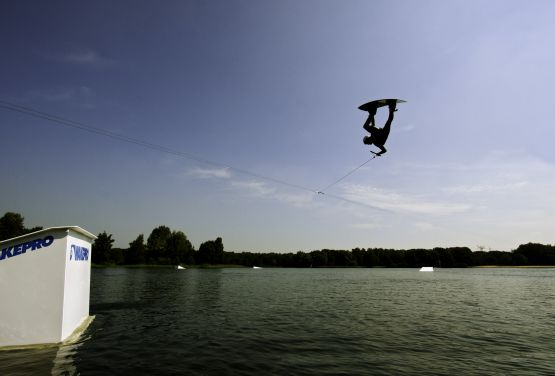 Lakeside Zwolle Wakepark in Netherlands