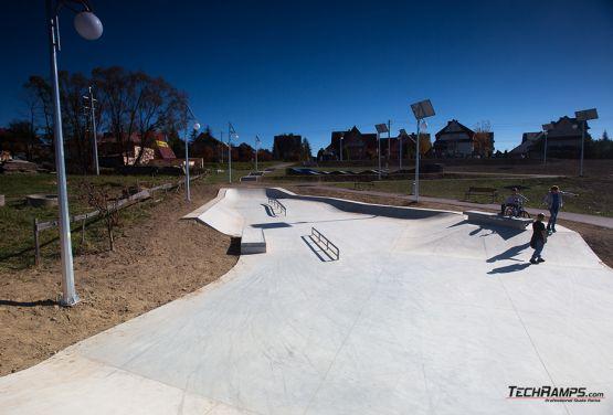 skatepark concrete