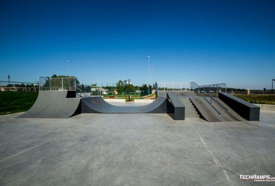 Techramps skatepark Wąchock Projekt