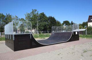 Mini-Rampe in Rybnik in Polen