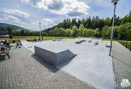 Skatepark Leichtbeton Milówka