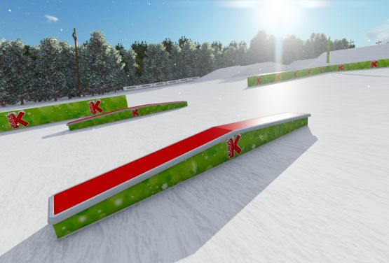 Mini Snowpark fur Kinder (Arena Słotwiny)