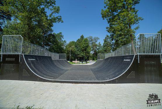 Miniramp skatepark in Rabka-Zdrój