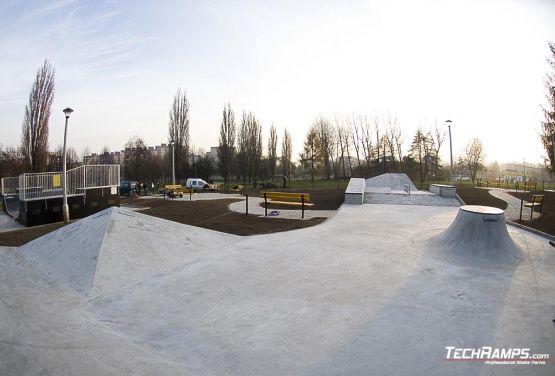 Mistrzejowice Cracow Skateplaza