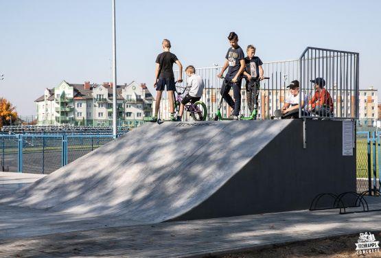 Skatepark od Techramps - project and constructionSkatepark w Nakle nad Notecią