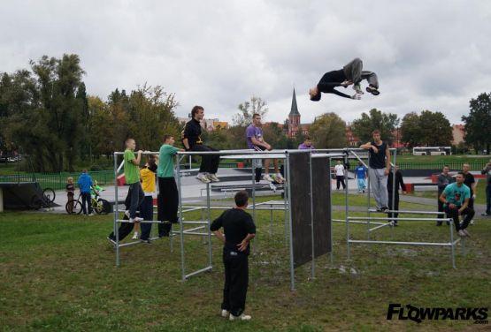 Parkour Park Ełk (Pologne)