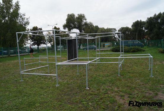 Mobilny Parkour Park w Ełku