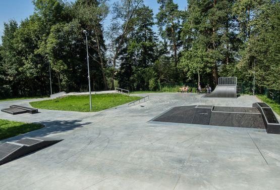 Skatepark modular en Rabka-Zdrój