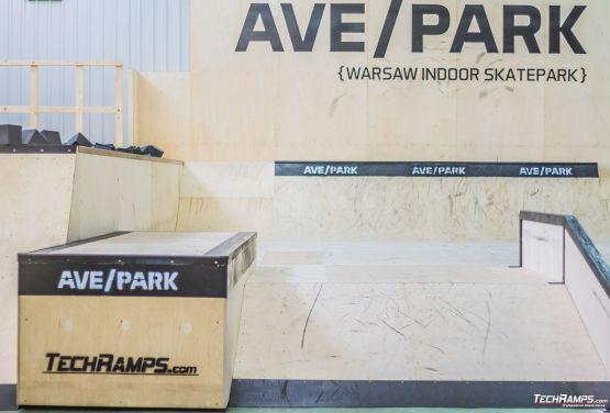 Warschau skatepark - Halle