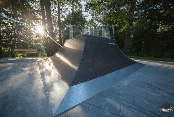 Skatepark en Rabka - quarter modular