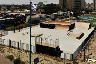Modular skatepark in Israel - Ramla