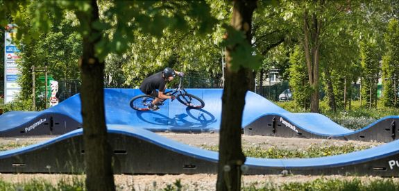 Modulare Pumptrack in Krakau