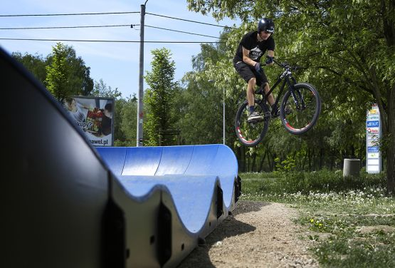 Pumptrack Modular in Krakau