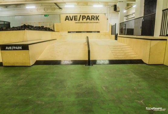 Warszawski skatepark wewnętrzny - AvePark