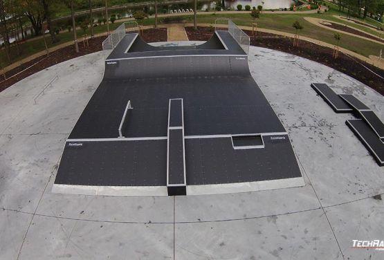 Przeszkody w modułowym skateparku