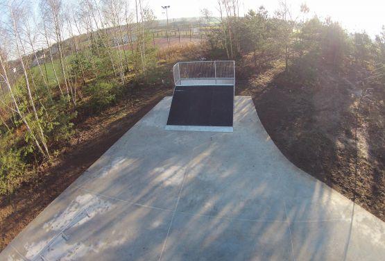 Skatepark kompozytowy - Kamionki