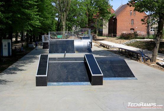 Modułowy skatepark - Sulęcin
