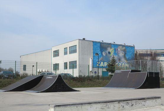 Modułowy skatepark w Tarnowskich Górach (śląskie)