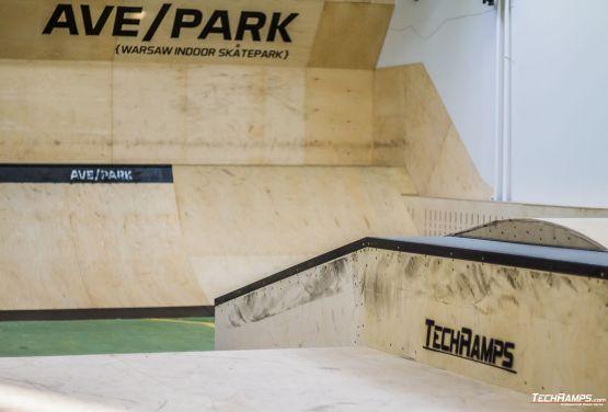 Warszawski wewnętrzny skatepark - AvePark