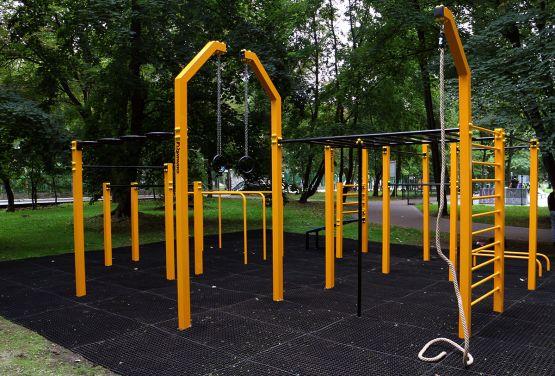 Street Workout Park à Nysa