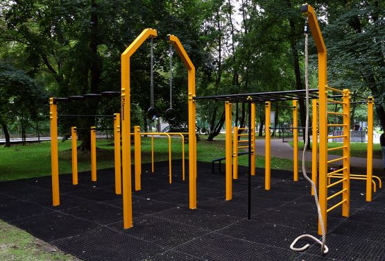 Parque de entrenamiento callejero en Nysa