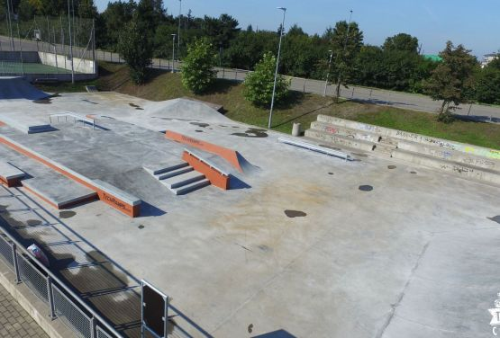 Concrete Skatepark from Techramps - Ergo Arena