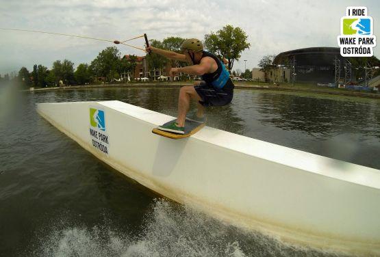 Boardslide - Ostróda wakeboarding