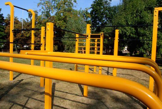 Wysokie Mazowieckie - street workout park