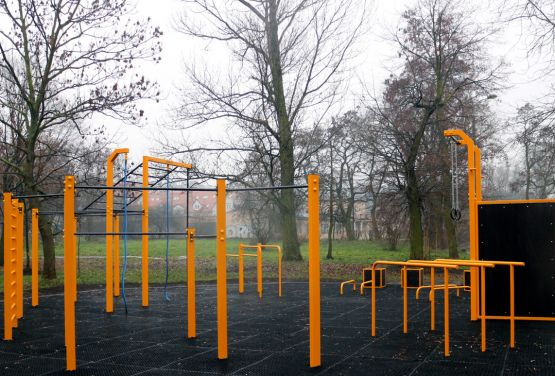 Gniezno - exercices en plein air