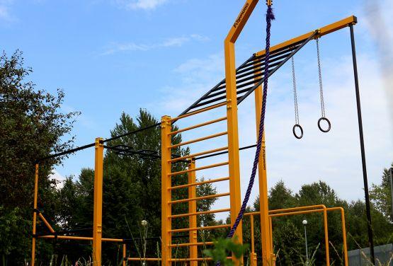 Parc d'entraînement de rue à Bemowo - Varsovie
