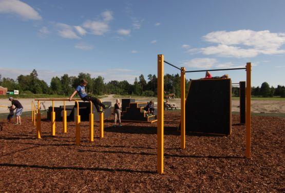 Street Workout Park od Flowparks