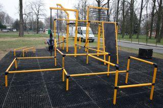 Parque de entrenamiento callejero en Varsovia - Bemowo Polonia