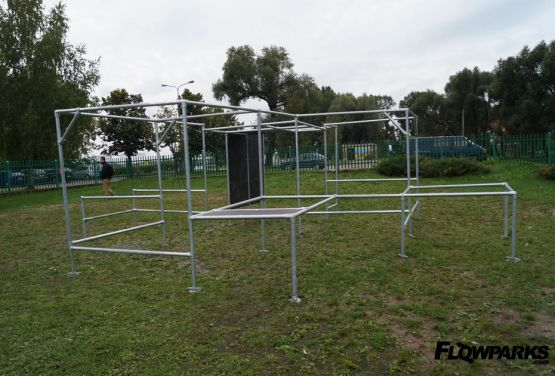 Mobile Parkour Park in Ełk (Pologne)