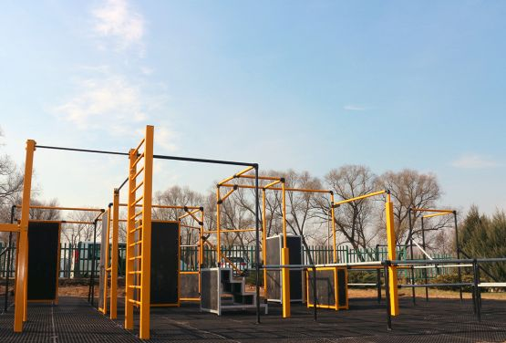 Parkour Park en Ełk