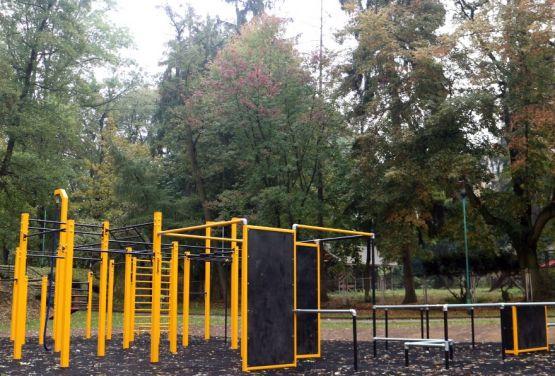 Parkour Park en Trzebnica