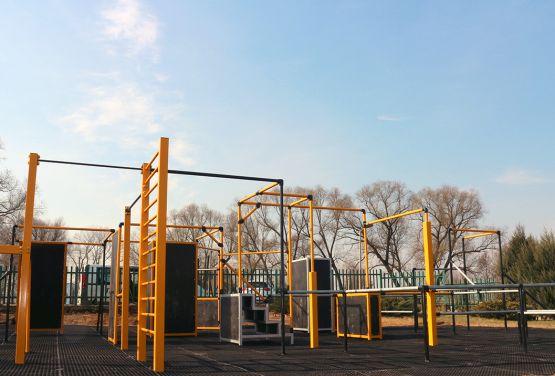 Parkour Park in Ełk