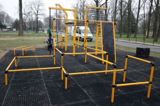 Street Workout Park in Warsaw - Bemowo