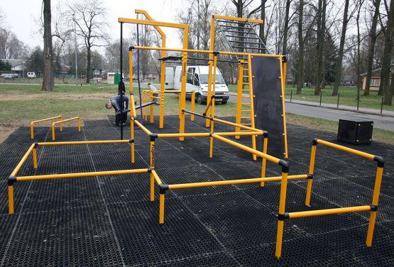 Street Workout Park in Warsaw - Bemowo