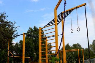 Parque de entrenamiento callejero en Bemowo - Varsovia