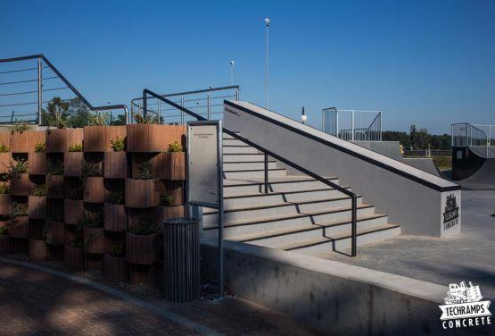 Skatepark Wąchock - instalación deportiva