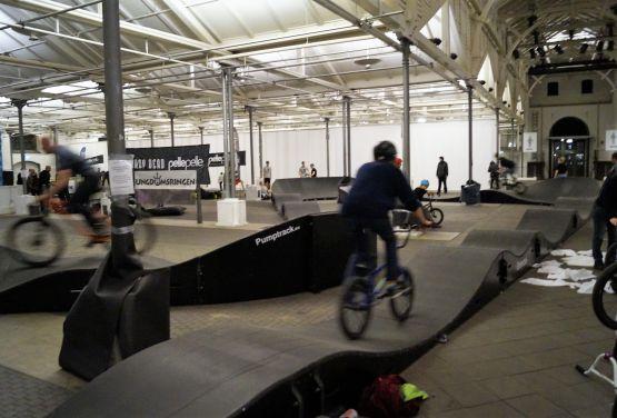 piste cyclable - Pumptrack à Copenhague