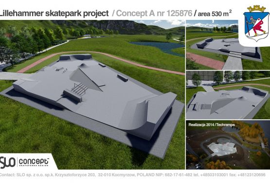 Project documentation - skateparks concrete