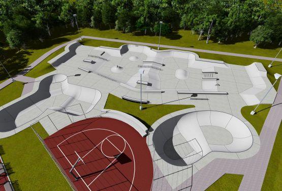 Skatepark in Norwegen