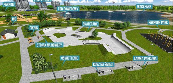 Projekt zagospodarowania parku