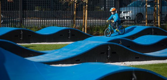 Pumptrack für Kinder