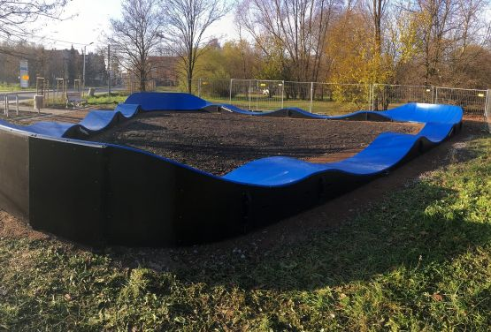 Pumptrack - Modell - PC2A