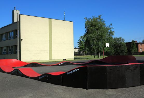 Modulare Pumptrack von pumptrack.eu