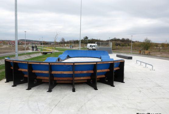 Pumptrack modular en Bilcza